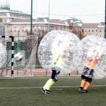 buborékfoci pályán